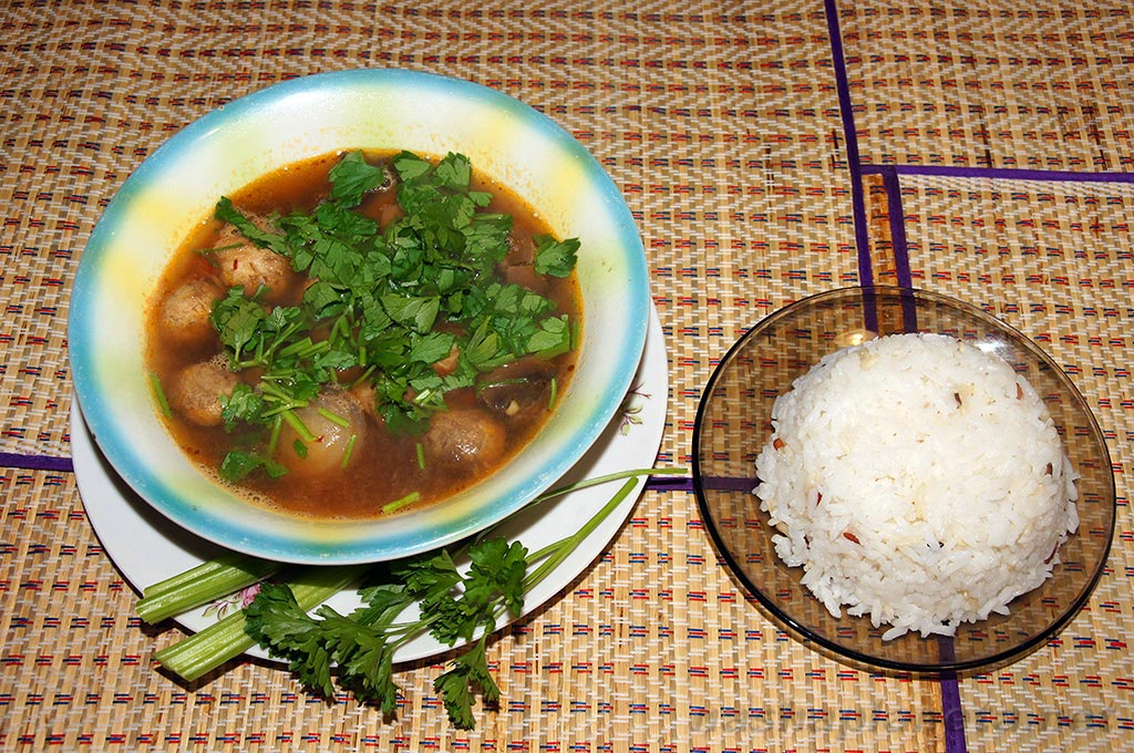 У путешественников есть консервы для супа трех видов из курицы с рисом