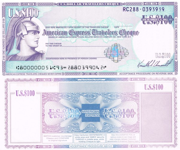 Visa Travellers Cheques Singapore