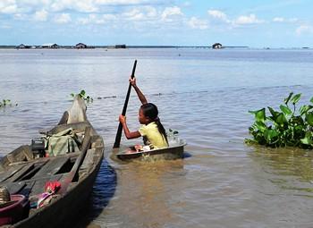 Озеро Тонлесап (Камбоджа)