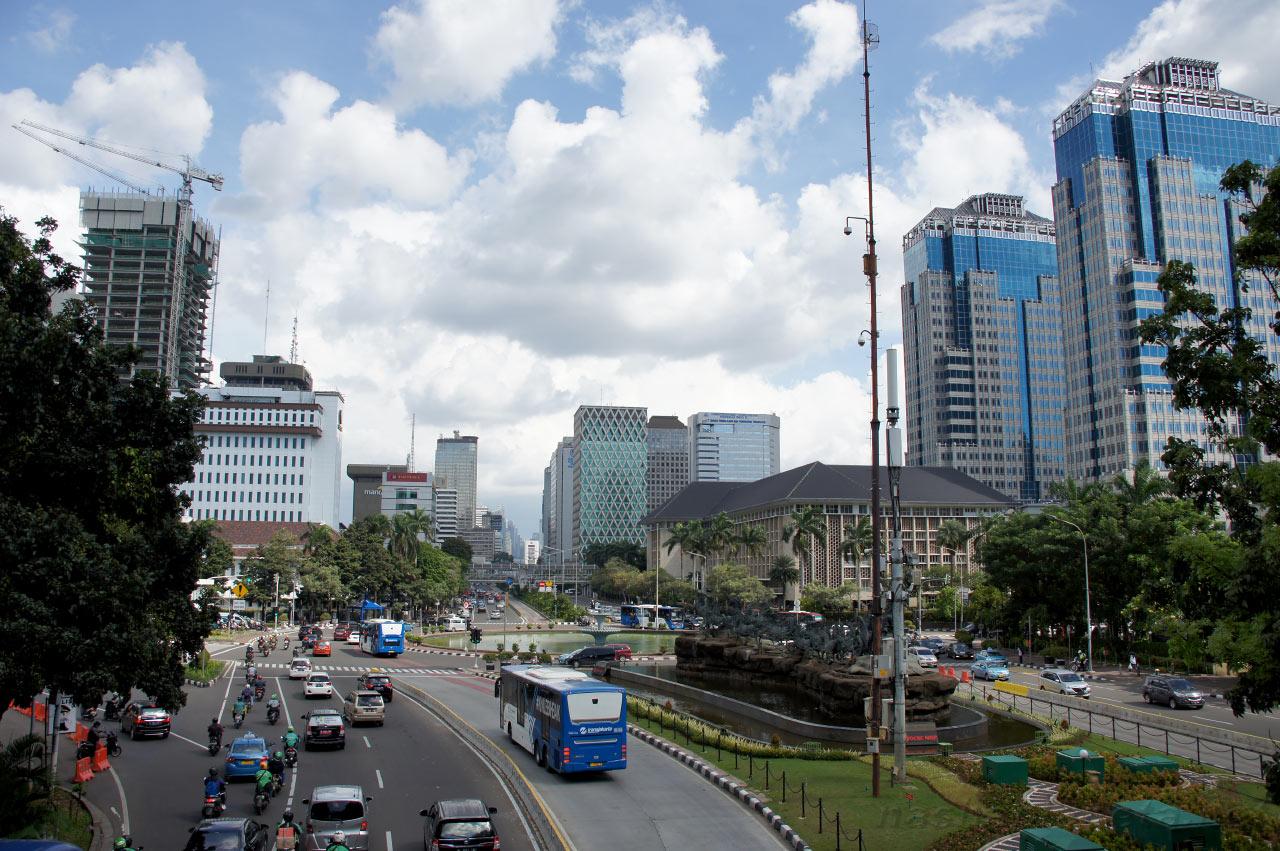 Современная Джакарта