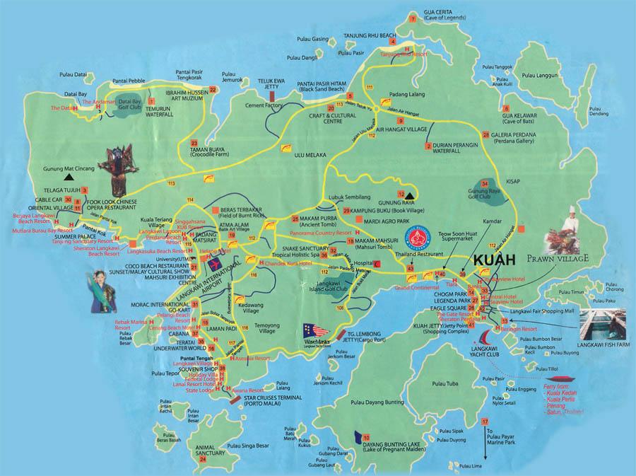 itempropname headlineLangkawi Map