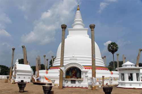 Ступа Тхупарама, Анурадхапура