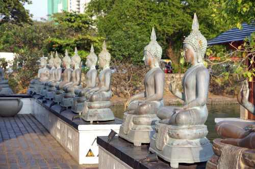 Центр медитаций Seema Malakaya, Коломбо, Шри-Ланка