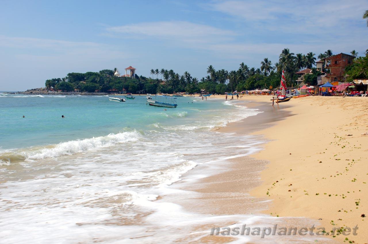 Унаватуна, Шри-Ланка. Фото пляжа и моря. Отзывы об отдыхе в 3