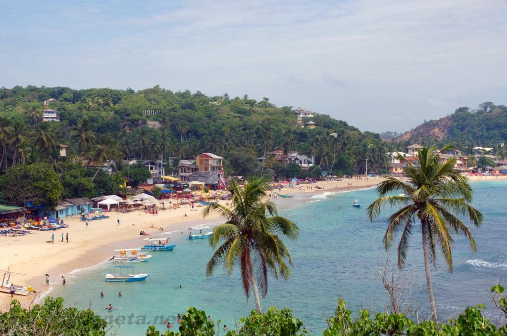 Унаватуна, Шри-Ланка. Фото пляжа и моря. Отзывы об отдыхе в 85