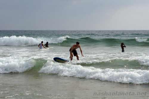 Серфинг в Велигаме