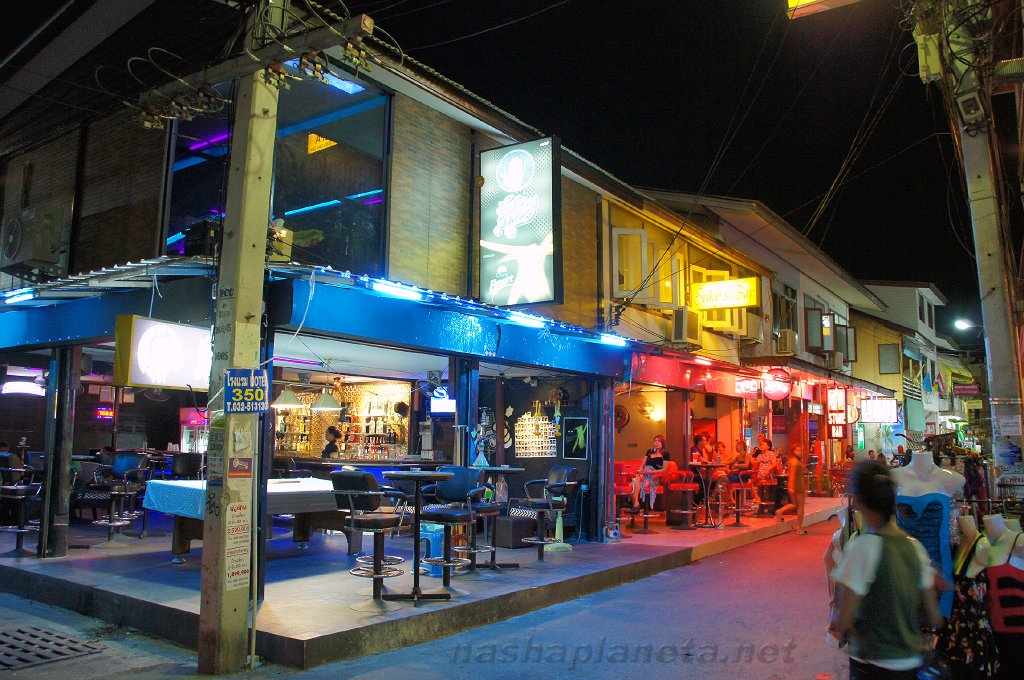 Район развлечений в Хуахине