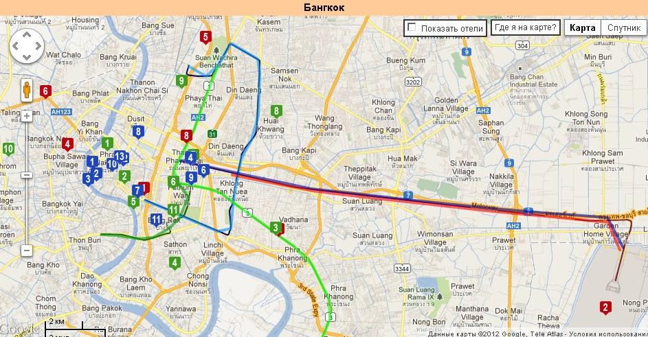 Как пользоваться метро в бангкоке