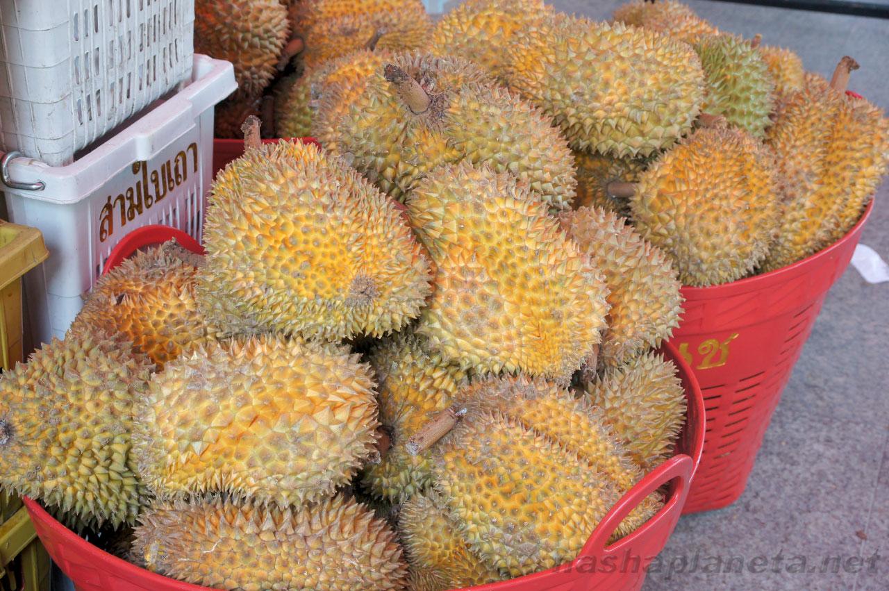 Дуриан в Таиланде