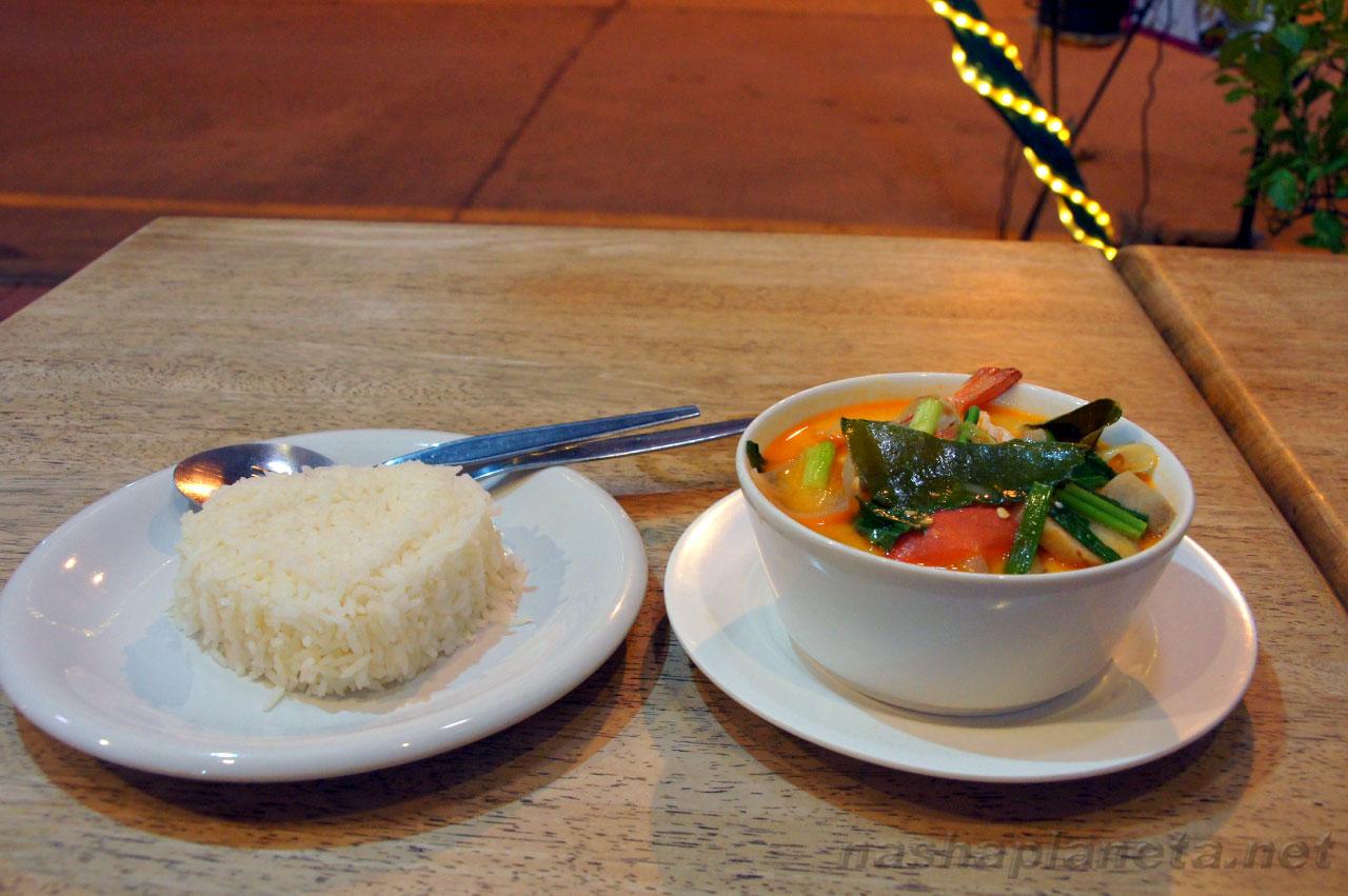 Суп Том Ям в Таиланде