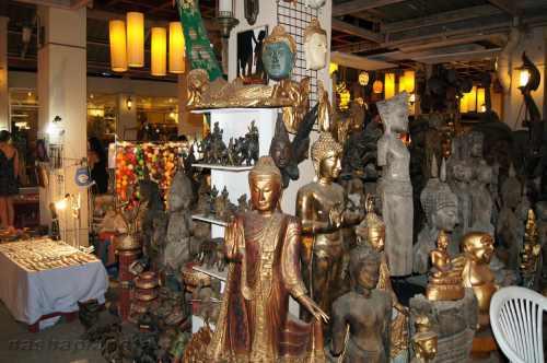Ночной рынок Чиангмая