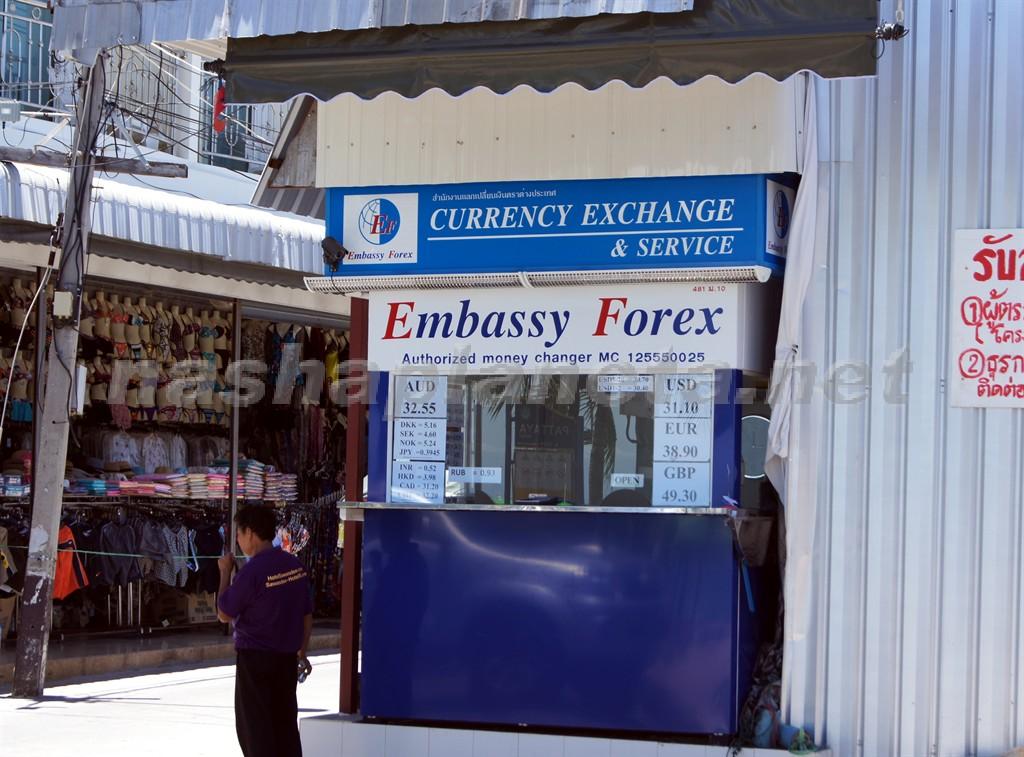 Курс евро в таиланде