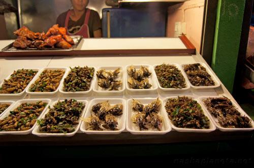Экзотическая еда Тайланда