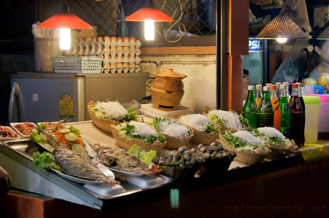Эзотические блюда тайланда