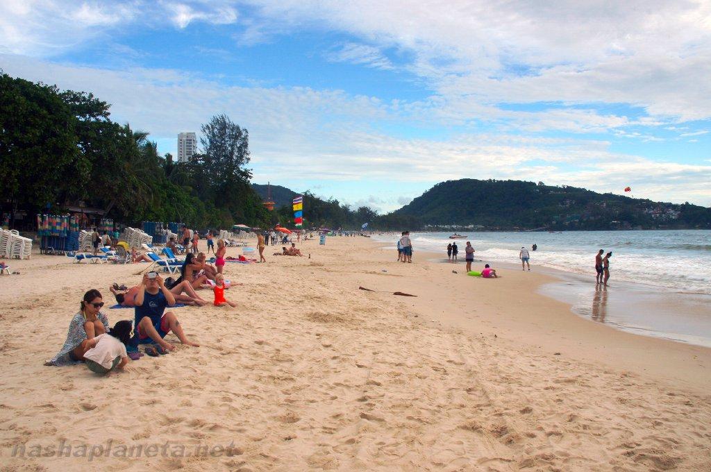 Пляж в меганом фото