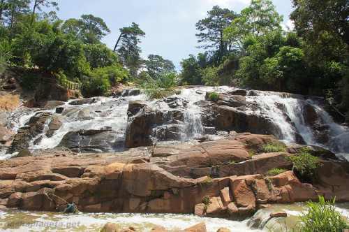 Водопад Камли, Далат (Вьетнам)
