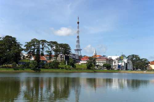 Озеро Сюан Хыонг, Далат