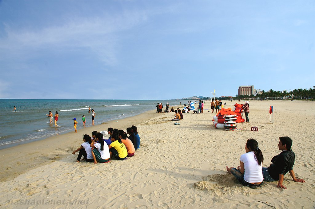 Пляж во Вьетнаме, Дананг