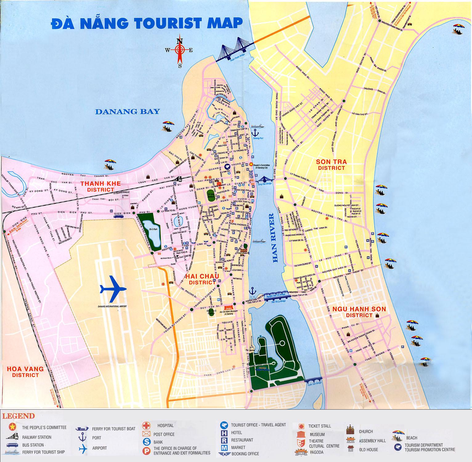 Maps Of Vietnam Resorts In Map Of Vietnam