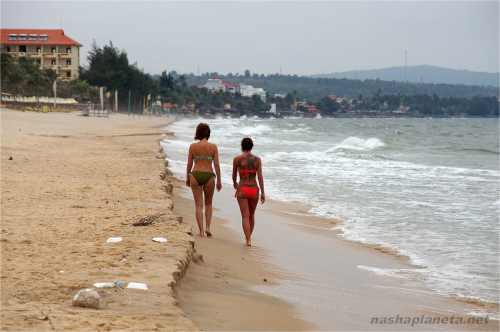 Пляж Муйне часто выглядит вот так
