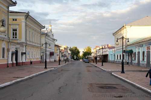 Улица Казанская, достопримечательности Елабуги