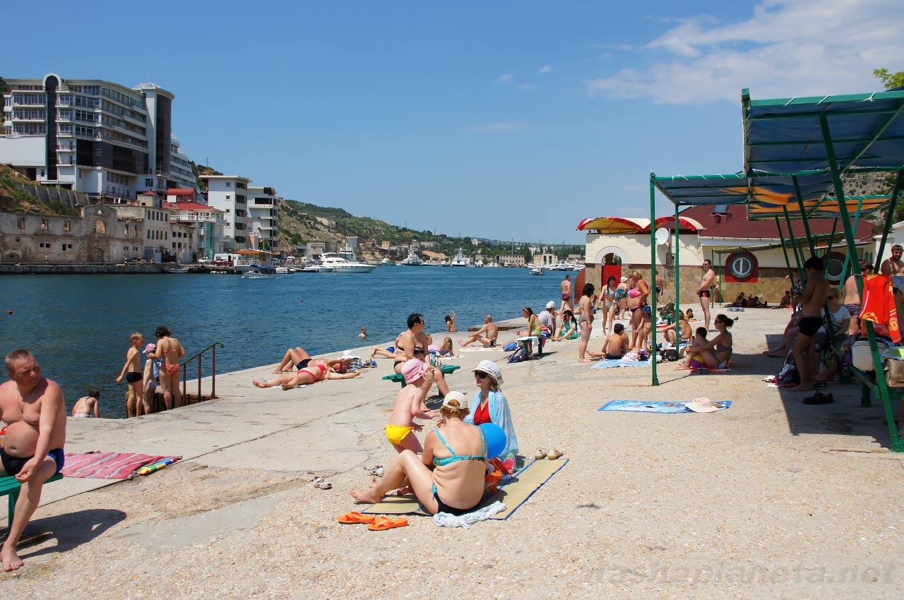 Untouched by civilization picturesque beaches of Crimea 68
