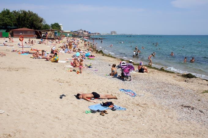 Пляж «Солярис» в Евпатории, Крым