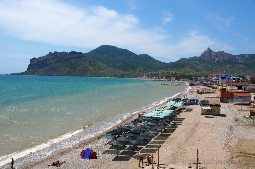 фото пляжа коктебель