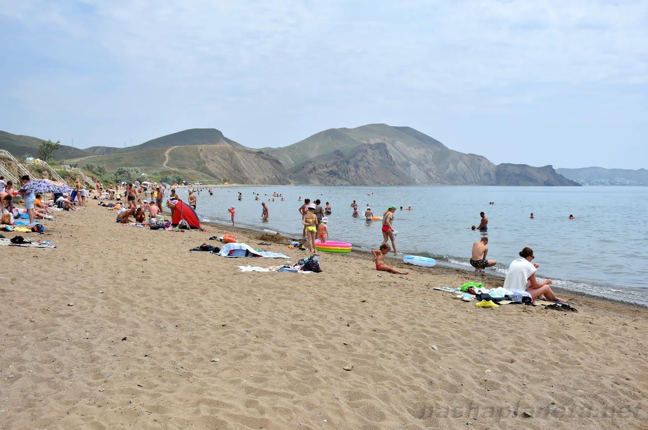 Пляж Тихая Бухта