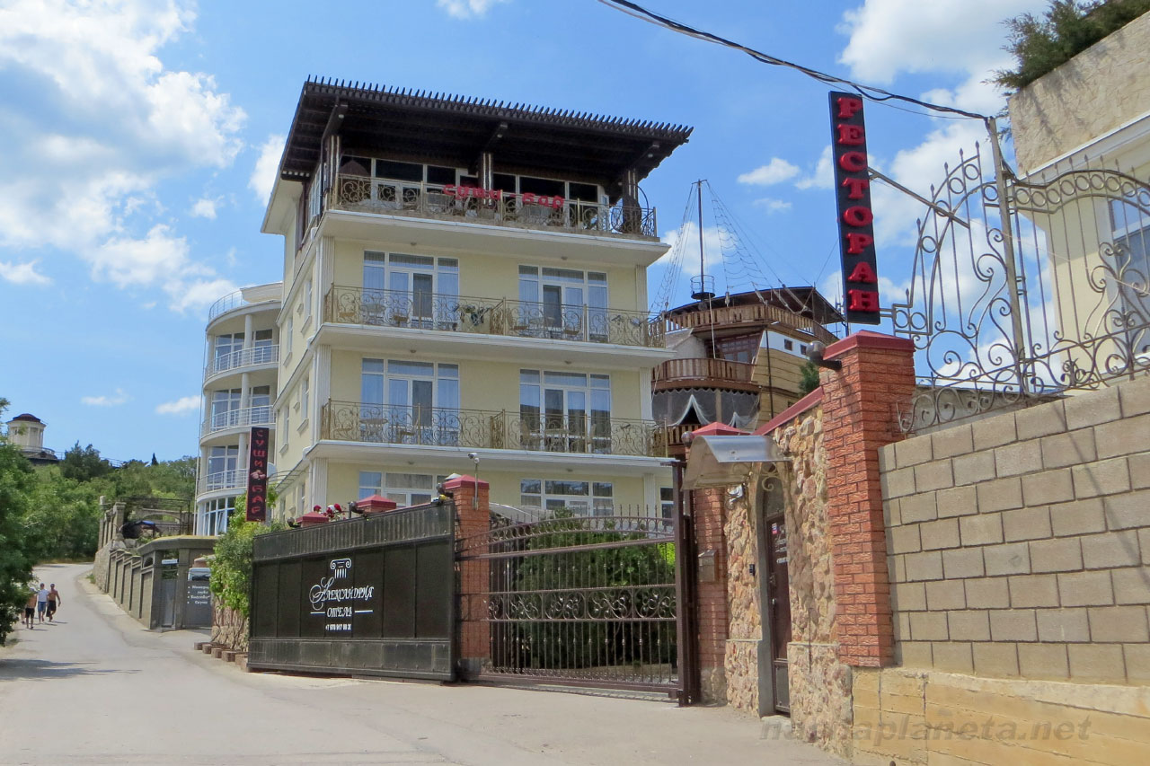 The most popular inexpensive boarding houses of Crimea