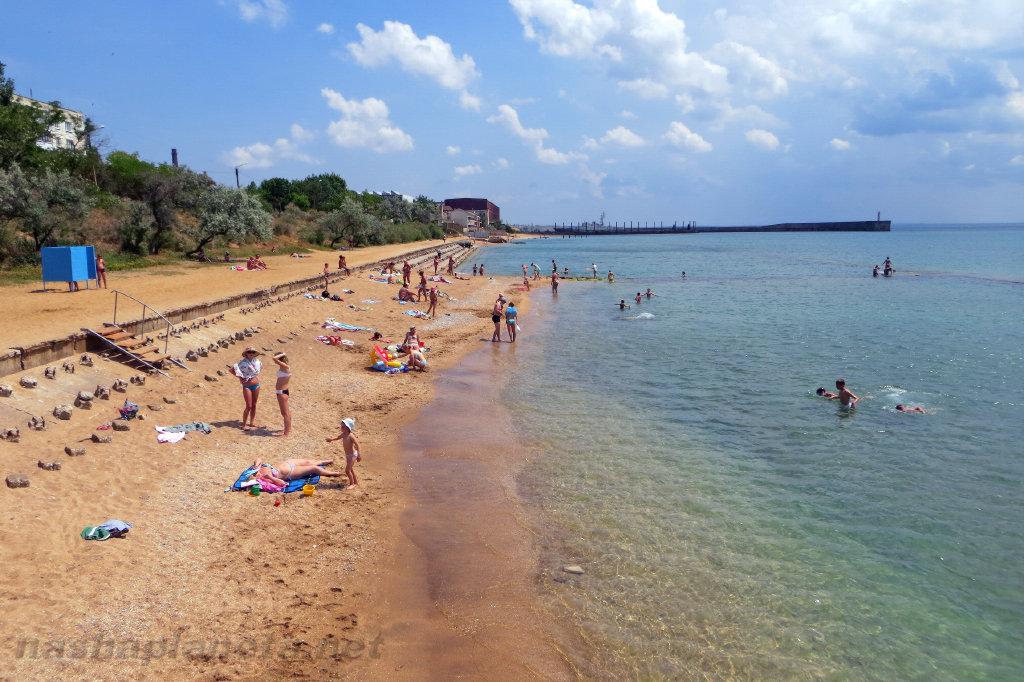 Отдых в поселке Приморский (Крым), путеводитель для туристов