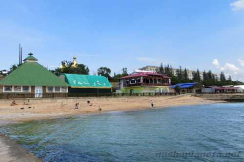 Вид на Приморский, Крым