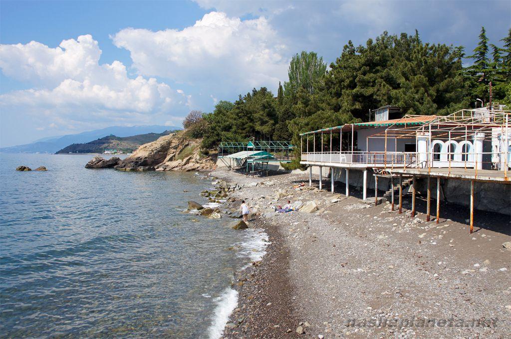 Пляж в малореченском крым фото