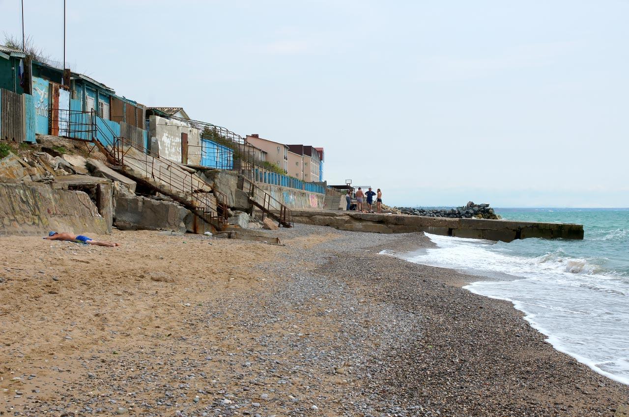 николаевка крым пляж фото