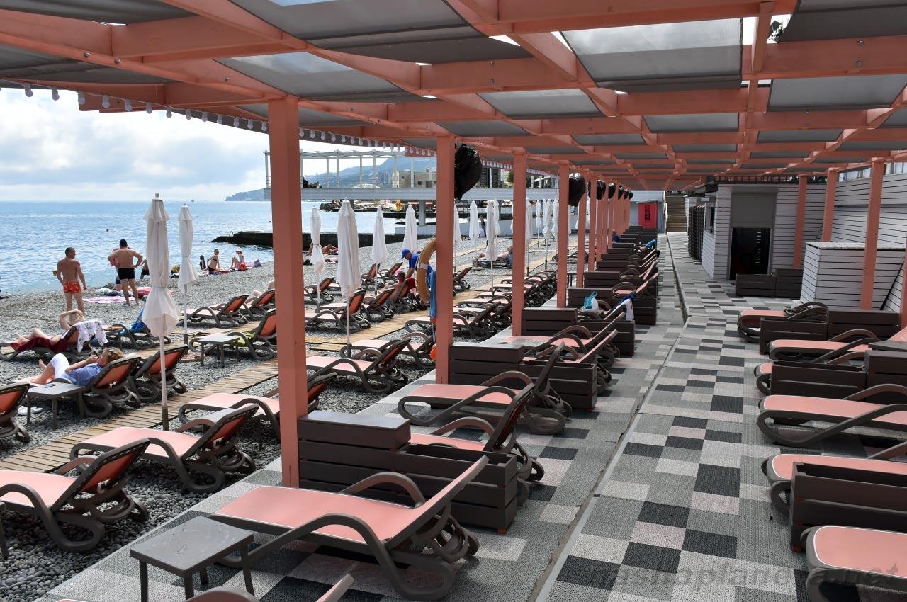 Пляжи в ялте 2018 фото