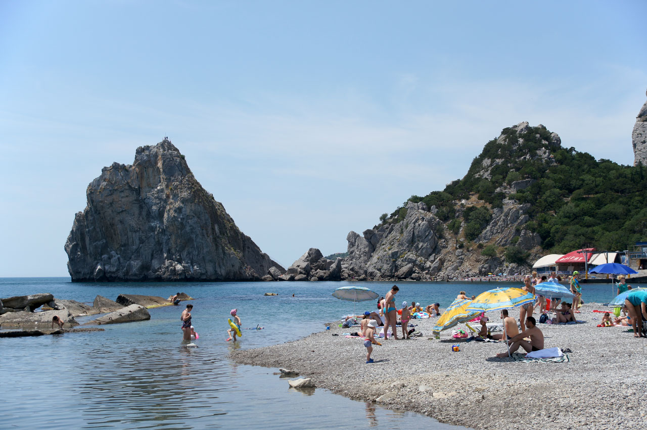 Simeiz: a selection of sites