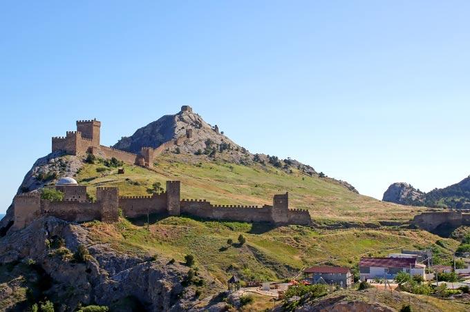 Крепость в Судаке, Крым
